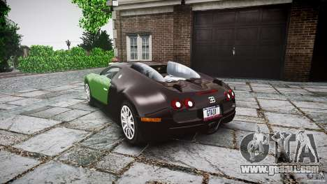 Bugatti Veyron 16.4 for GTA 4 back left view