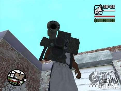 FGM-148 Dževlin for GTA San Andreas second screenshot