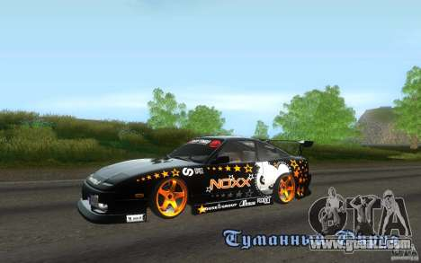 Nissan Silvia RPS13 Noxx for GTA San Andreas left view