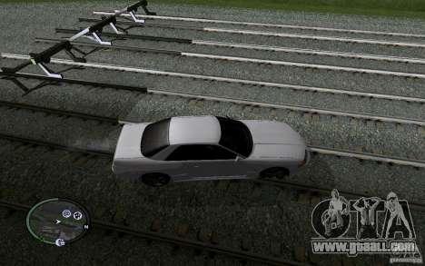 Russian Rails for GTA San Andreas eleventh screenshot