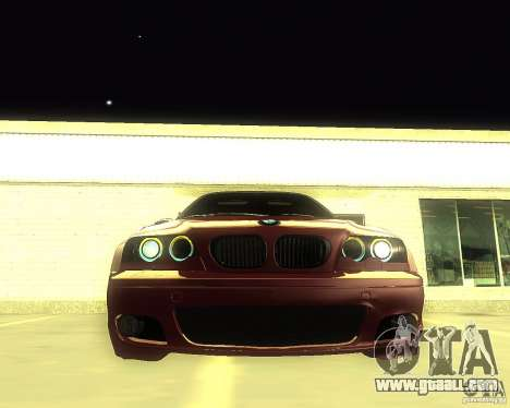 BMW 330 Ci for GTA San Andreas right view