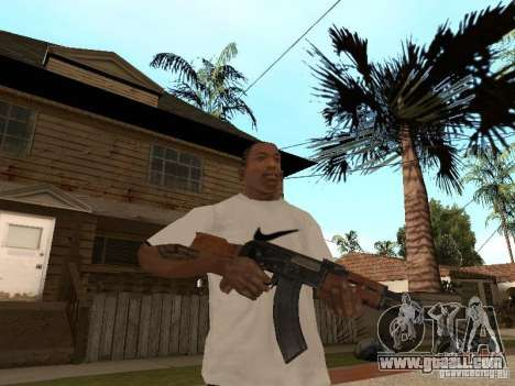 Kalashnikov AK-47 for GTA San Andreas