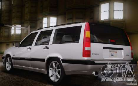 Volvo 850 Estate Turbo 1994 for GTA San Andreas wheels