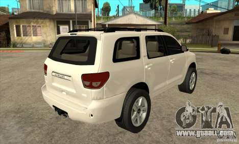 Toyota Sequoia for GTA San Andreas right view