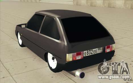 ZAZ-1102 Tavria Tuning for GTA San Andreas side view