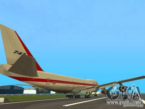 Boeing 747-100 for GTA San Andreas right view