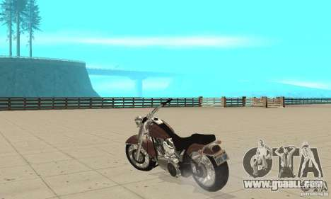 GTAIV Bobber for GTA San Andreas back left view