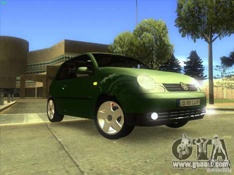 Volkswagen Lupo for GTA San Andreas bottom view
