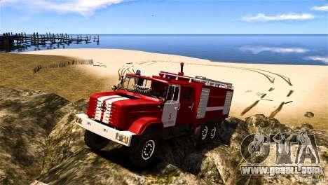 ZIL 433474 Firefighter for GTA 4