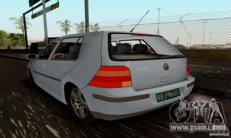 Volkswagen Golf 4 1.6 for GTA San Andreas left view