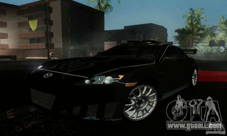 Mazda RX-8 Tuneable for GTA San Andreas right view