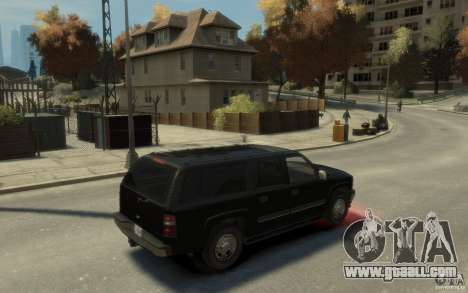 Chevrolet Suburban 2003 FBI for GTA 4 right view