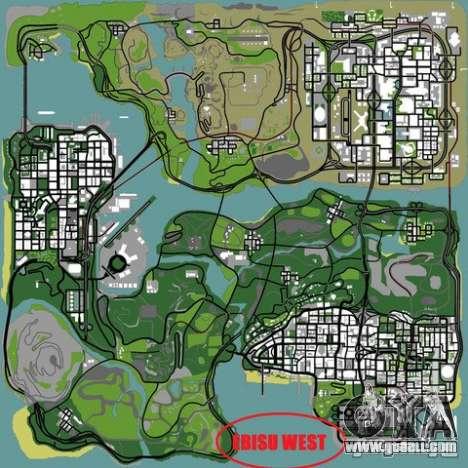 Ebisu West for GTA San Andreas sixth screenshot