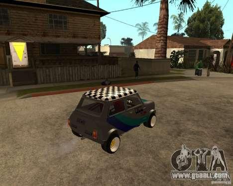 Mini Cooper for GTA San Andreas right view