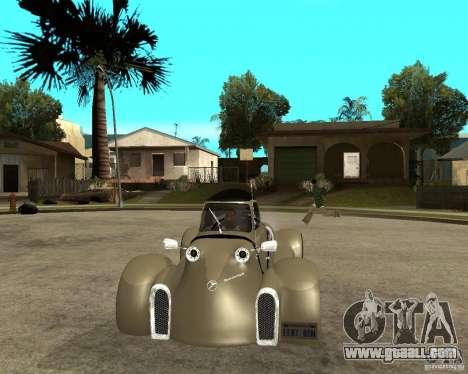 Messerschmitt GT500 Tiger Hard tuned for GTA San Andreas back view