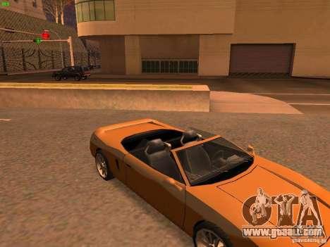 Infernus Revolution for GTA San Andreas inner view