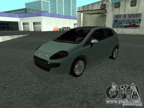 Fiat Punto EVO SPORT 2010 for GTA San Andreas