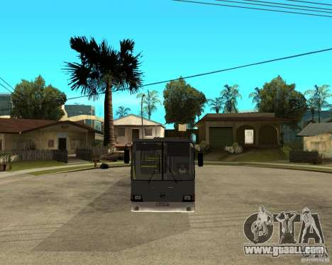 LIAZ 5256.25 Restyling for GTA San Andreas back view