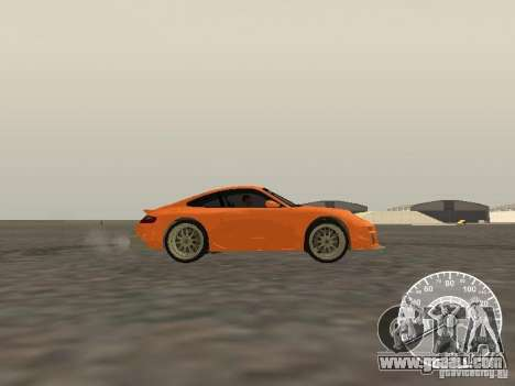 Porsche 911 GT3 Style Tuning for GTA San Andreas left view