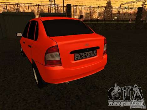 VAZ 1118 for GTA San Andreas right view
