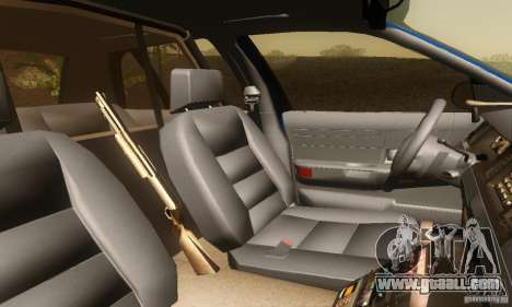 Ford Crown Victoria Michigan Police for GTA San Andreas back left view