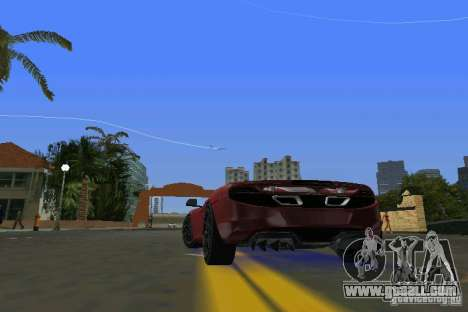 McLaren MP4-12C for GTA Vice City back left view