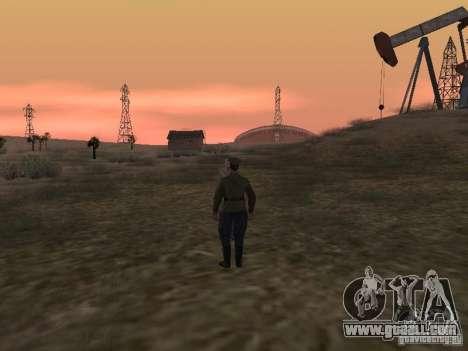 Soviet officer BOB for GTA San Andreas fifth screenshot