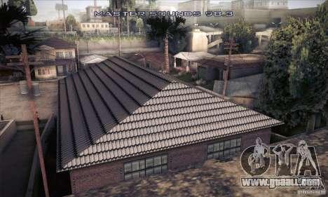 New home CJ for GTA San Andreas forth screenshot