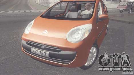Citroen C1 2005 for GTA San Andreas right view
