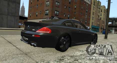 BMW M6 Hurricane RR for GTA 4 right view
