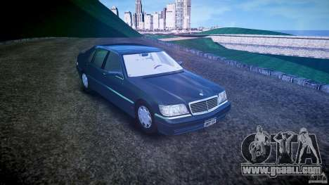 Mercedes Benz SL600 W140 1998 higher Performance for GTA 4 right view