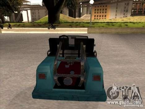 Small Cabrio for GTA San Andreas right view