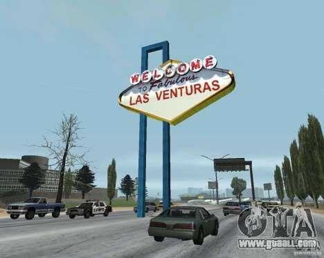 Real New Vegas v1 for GTA San Andreas forth screenshot