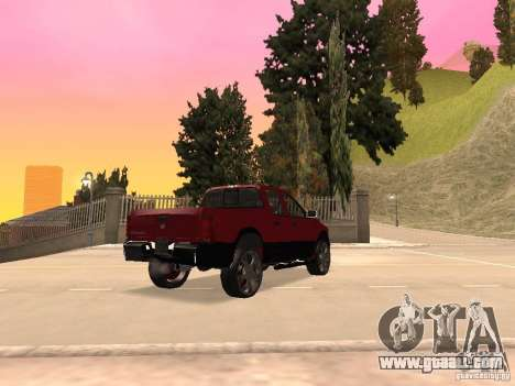 Dodge Ram 2010 for GTA San Andreas left view