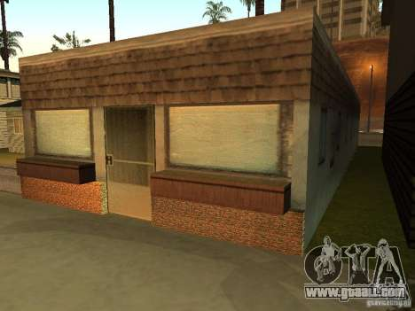 The modified House on the beach of Santa Maria 2 for GTA San Andreas second screenshot