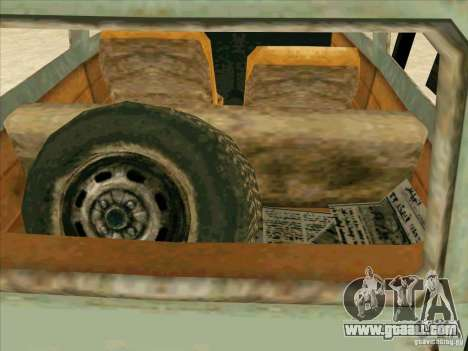 Car from COD 4 MW for GTA San Andreas upper view