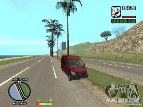 Mercedes-Benz 311 CDi for GTA San Andreas