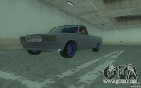 Lada 2107 Street Racing for GTA San Andreas right view