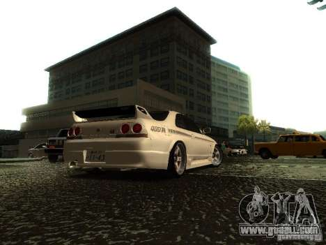 Nissan Skyline Nismo 400R for GTA San Andreas left view