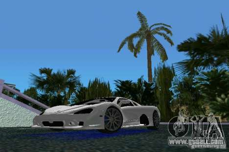 SSC Altimate Aero for GTA Vice City left view