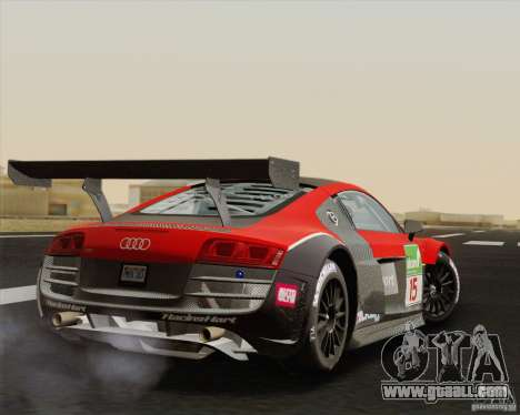 Audi R8 LMS v2.0.1 for GTA San Andreas right view