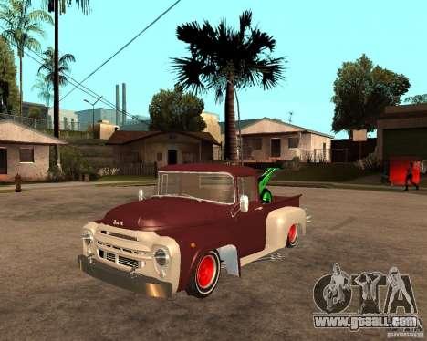 ZIL 130 Fiery Tempe Final for GTA San Andreas