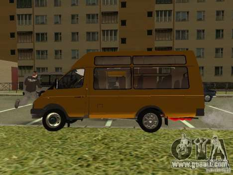 GAS SPV ruta-16 for GTA San Andreas right view