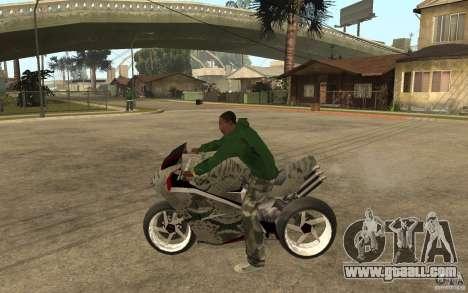 Streetfighter NRG 500 Snakehead v2 for GTA San Andreas left view