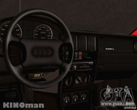 Audi 90 Quattro for GTA San Andreas right view