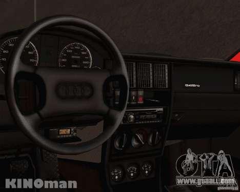 Audi 90 Quattro for GTA San Andreas right view