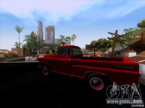 Chevrolet Apache GM 1959 for GTA San Andreas left view
