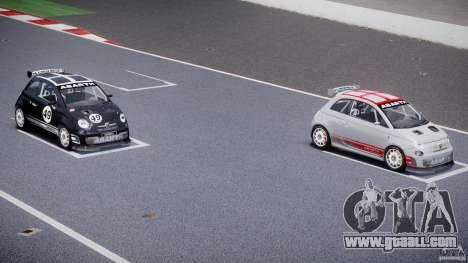 Fiat 500 Abarth for GTA 4 wheels