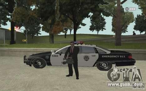 Animation of GTA IV v 2.0 for GTA San Andreas eighth screenshot