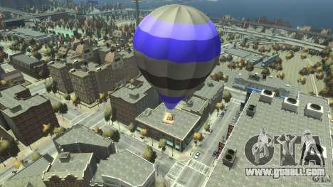 Balloon Tours option 8 for GTA 4 back left view